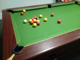 Pool for the English involves these balls (snooker uses the familiar solid and striped ones)